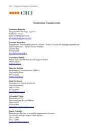 elenco in formato pdf - Crui