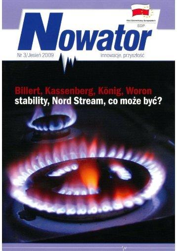Nowator (NR 3/ JESIEŃ 2009) - TELDAT