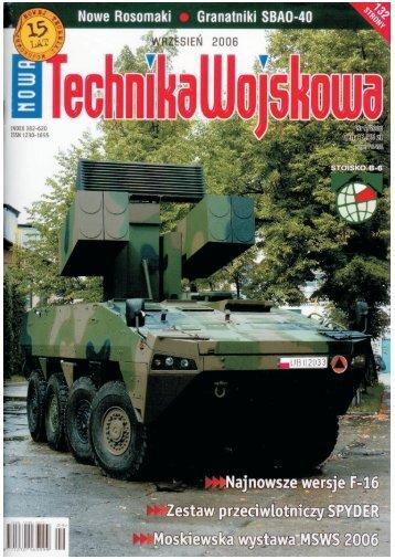 Nowa Technika Wojskowa (WRZESIEŃ 2006) - TELDAT