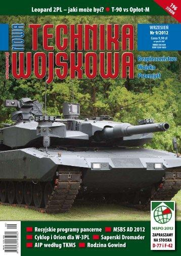 Nowa Technika Wojskowa (WRZESIEŃ 2012) - TELDAT