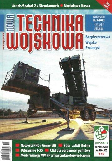 Nowa Technika Wojskowa (WRZESIEŃ 2013) - TELDAT