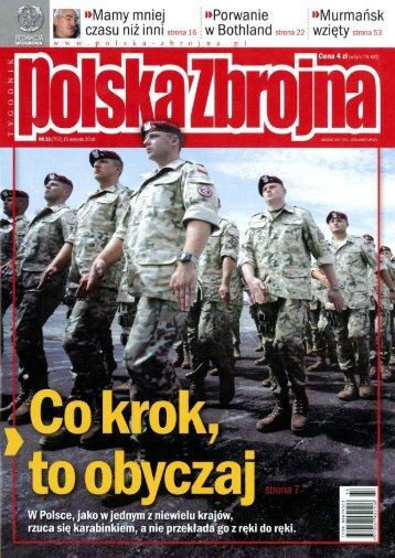 Polska Zbrojna (15 SIERPNIA 2010 NR 33) - TELDAT