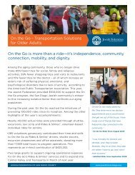 On the Go - Jewish Federation of San Diego County