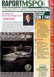 Raport MSPO 1 (6 WRZESIEŃ 2010) - TELDAT