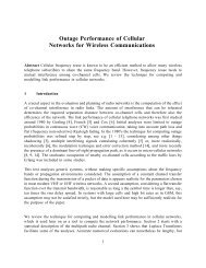 Outage Performance of Cellular Networks for Wireless ...