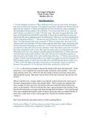1 The Gospel of Matthew Week Twenty-Three Matthew 20:1-34 ...