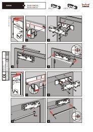 Montageanleitung für den DORMA Obentürschließer TS 93.