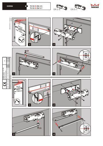ts 91 en 3 b dorma. Black Bedroom Furniture Sets. Home Design Ideas