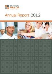 Annual Report 2012 - Service Skills