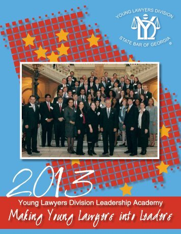 Young Lawyers Division Leadership Academy - State Bar of Georgia