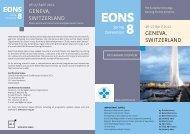 GENEVA, SWITzERLANd GENEVA, SWITzERLANd - the European ...