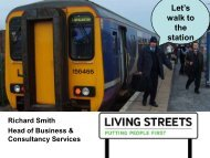 Let's Walk to the Station - Association of Community Rail Partnerships
