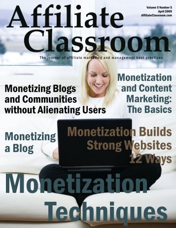 Monetization Builds Strong Websites 12 Ways