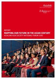 mapping our future in the asian century - Asialink - University of ...