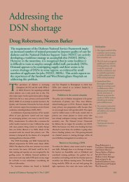 Addressing the DSN shortage - Journal of Diabetes Nursing