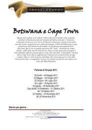 Botswana e Cape Town - Esperti Africa