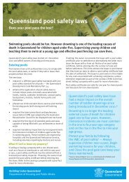 Queensland pool safety laws - Property Safety Inspections