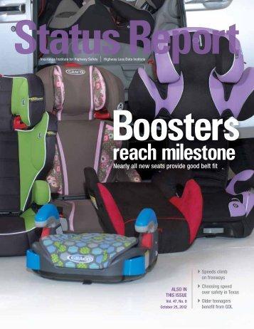 IIHS Status Report newsletter, Vol. 47, No. 8, October 25, 2012