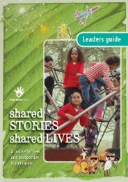 shared STORIES shared LIVES - ACWA