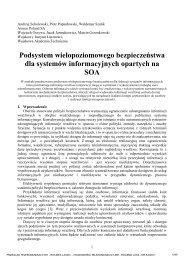 Andrzej Sobolewski, Piotr Popardowski, Waldemar Szulik Asseco ...