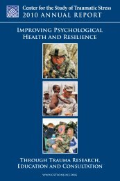 Download Resource - Center for the Study of Traumatic Stress