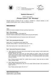 Informace - Mikroskopy - 3.pdf - E-ZAK MUNI - Masarykova univerzita
