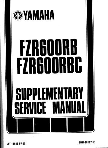 FZR600 Supplement RB-RBC pt 1.pdf - The FZR Archives