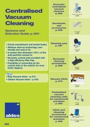 Centralised Vacuum Cleaning - Building & Construction Network