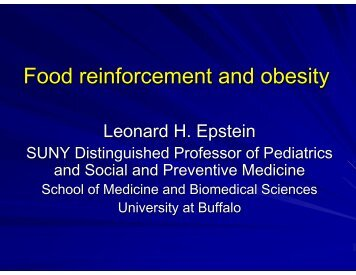 Len epstein - Society of Behavioral Medicine