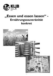 1. Ernährungssouveränität allgemein - (KLJB) Bayern