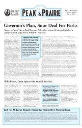 July/August/Sept 2003 (pdf) - Sierra Club Rocky Mountain Chapter