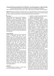 Anycast routing algorithms for effective job scheduling ... - Phosphorus
