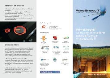 PrimeEnergyIT Soluciones innovadoras para la eficiencia ...