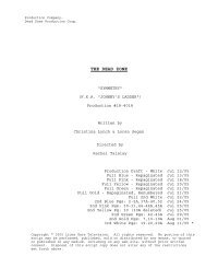 18-4018 Final Shooting Script.scw