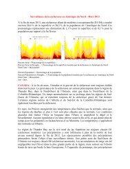 Surveillance de la sécheresse en Amérique du Nord - Mars 2013 À ...