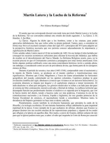 Martín Lutero y la Lucha de la Reforma - Escritura y Verdad