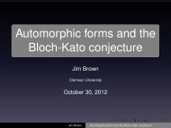 Automorphic forms and the Bloch-Kato conjecture
