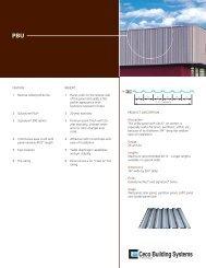 PBU - Ceco Building Systems