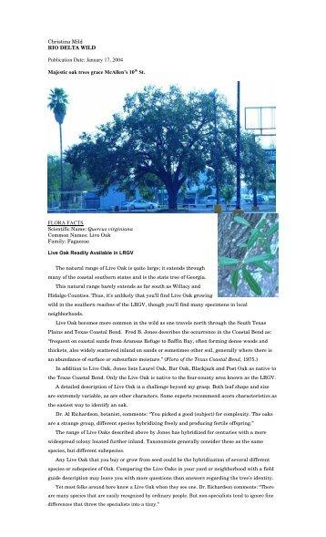 "Publication Date: January 17, 2004 - Christina Mild's ""Rio Delta Wild"""