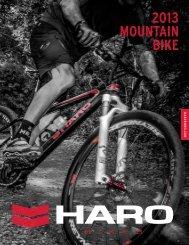 2013 MOUNTAIN BIKE - Haro Bikes