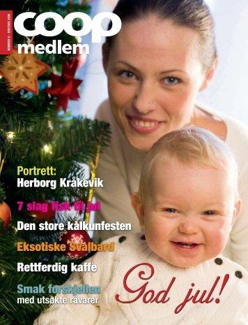 Portrett: Herborg Kråkevik 7 slag fisk til jul Den store ... - Coop