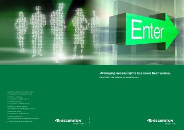 Brochure SecuriGate
