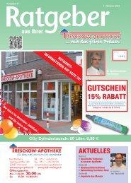 Oktober 2012 - Tresckow-Apotheke
