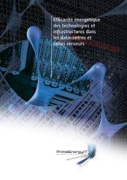 Efficacité énergétique des technologies et ... - PrimeEnergyIT