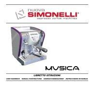 musica manual - Nuova Simonelli