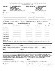 FLIGHT REPORT FORM MAIL TO - 1-26 Association