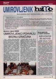 'Umirovljenik', broj 2/2005. - Hrvatski zavod za mirovinsko osiguranje