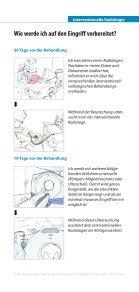 Patienteninformation Interventionelle Radiologie: Ihre Alternative zur ... - Seite 3