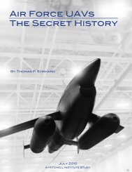 Air Force UAVs The Secret History - Air Force Association