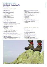CzeCh RepubliC Market & Trade profile - VisitBritain
